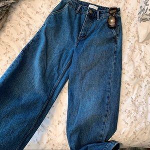 OAK + FORT Wide leg jeans